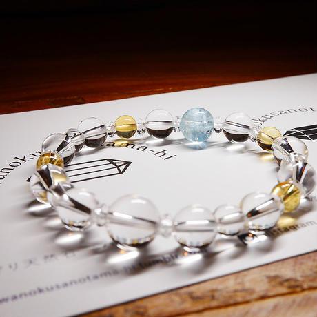 お守り天然石のブレスレット(縁結び、癒し、幸運、願望成就)