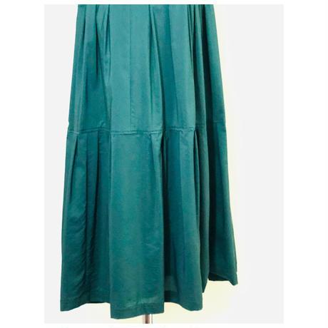 INTERLINEAIRE シルク地ビビットカラーデザインスカート