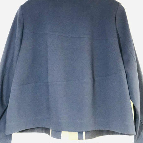 ステンカラーデザインショートジャケット Pa-Nu