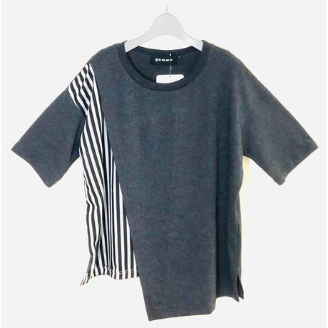 フロント切り替えデザインTシャツ   gomme