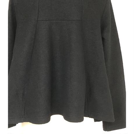 CRESCENT 後ろ裾広がりショールカラーショートジャケット