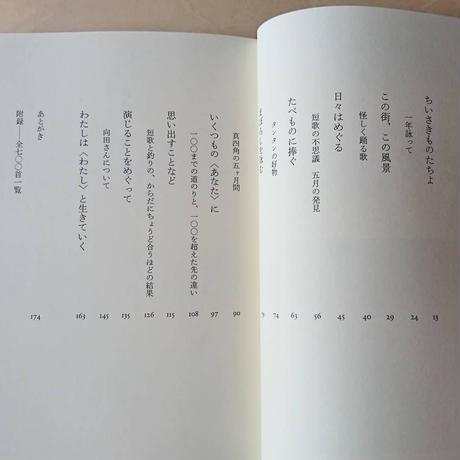 たん・たんか・たん 美村里江歌集