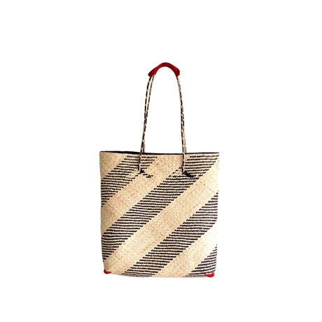 SHIMASHIMA BAG A4  RED