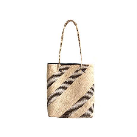 SHIMASHIMA BAG A4  BEIGE