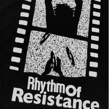 VINYL JUNKIE - RHYTHM OF RESISTANCE Tee /  Black