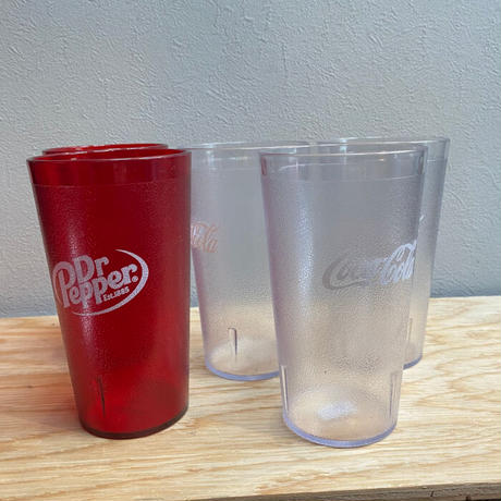 IMPACT TUMBLERS 16us fl oz MADE IN USA CocaCola Dr.Pepper