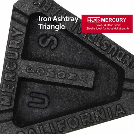 Mercury Iron Ashtray Triangle【マーキュリー】アイアンアッシュトレイトライアングル