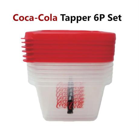 【Coca-Cola】 コカコーラ ストレージ コンテナー 6P セット【8900121】