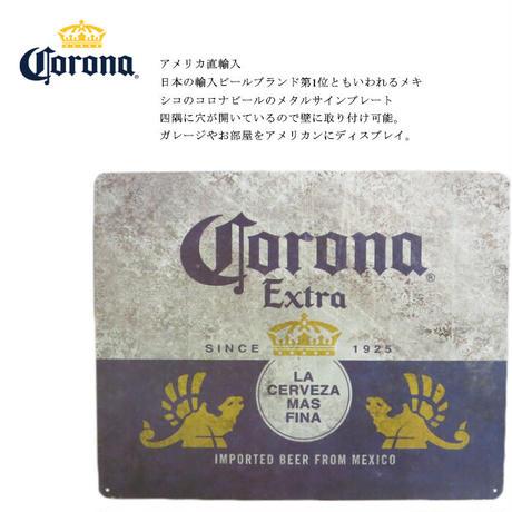 CORONA EXTRA metal signコロナエキストラ メタルサイン / アメリカ直輸入【8900102】