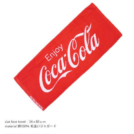 【Coca-Cola】 フェイスタオル【8900123】