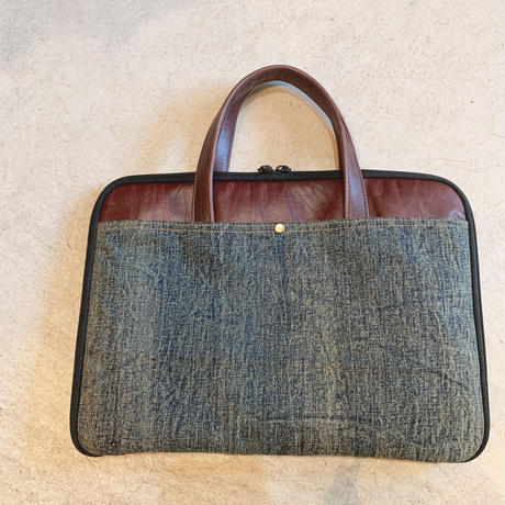 HillMeJEAN Real leather PC bag(13.3inchPC対応)