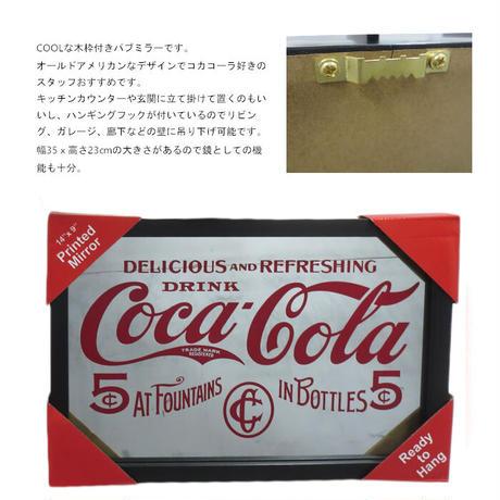 コカ・コーラ パブ ミラー / アメリカ直輸入 【8900126】