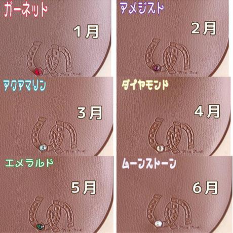 ◇誕生石カラーシリーズ◇【下刻印】幸せを呼び込むマスクケース 抗菌MASKHOUSE1616