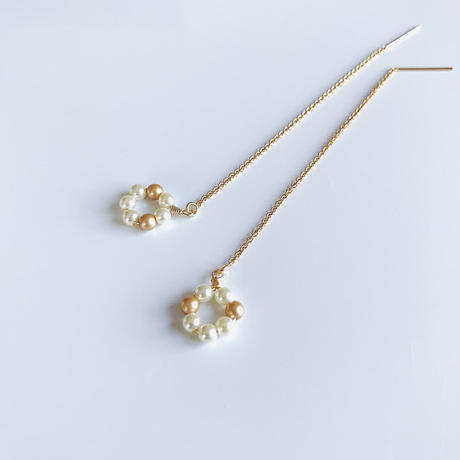 14kgf/petit pearl flower【American pierce 】
