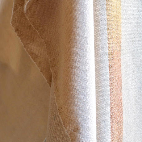 SHAWL  -White×Beige-