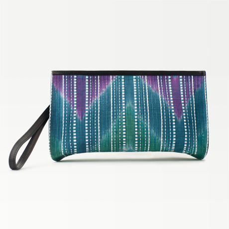 CLUTCH BAG –aomurasaki–