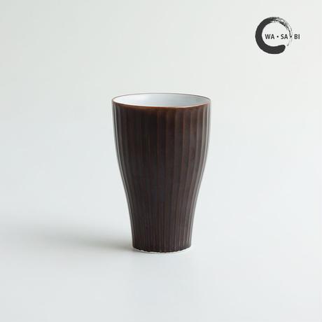 和茶美ーしのぎ 立小煎茶碗 茶