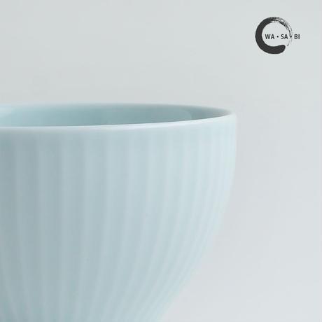 和茶美ーしのぎ 煎茶碗 青磁
