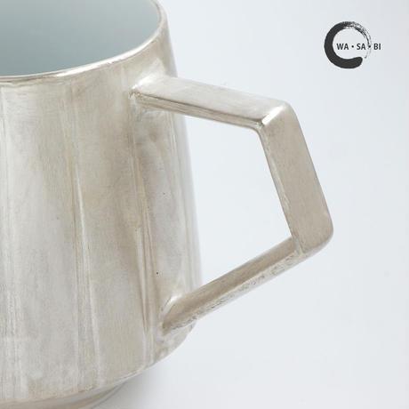 和茶美ー竹林 マグカップ 銀