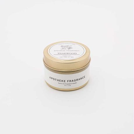 APOTHEKE FRAGRANCE  -TRAVEL TIN CANDLE-