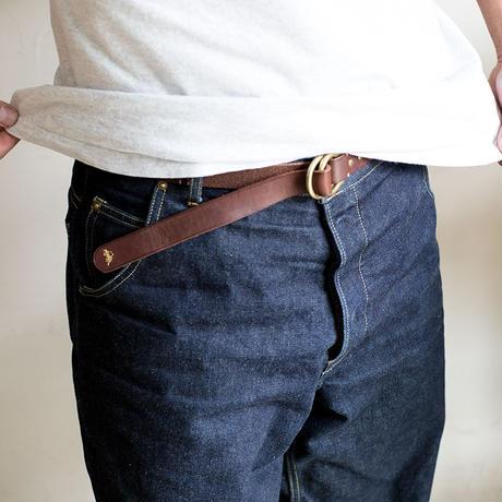 JB401 ( shell ring belt ) brown