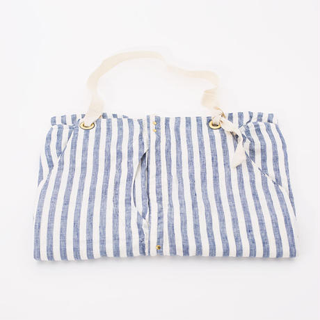 Suolo GRIZZLY APRON Linen Check&Stripe