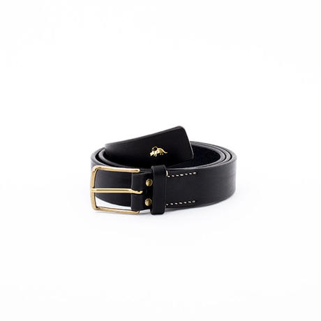 JB403 ( thin buckle belt ) black *近日入荷予定*