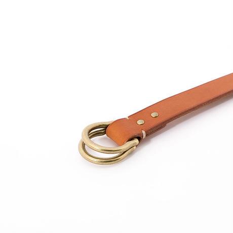 JB401 ( shell ring belt ) dark brown