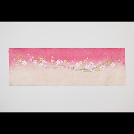 創作デザイン和紙(桜)(商品番号:as-20605)