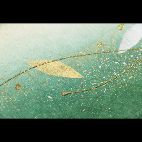 創作デザイン和紙(葉)(商品番号:as-160601)