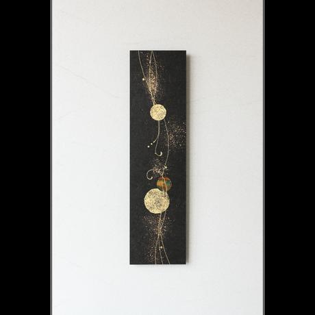 和紙アートパネル「煌-Kirameki」 Washi Wall Art Panel 800×210