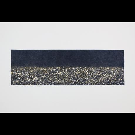 創作デザイン和紙 青色(しぶき)(商品番号:as-160101)