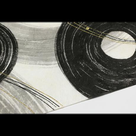 創作デザイン和紙(墨)(商品番号:as-160606)