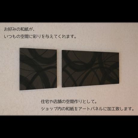 オンライン限定 『アートパネル加工代 28cm角・60×28cmサイズ 2枚組』
