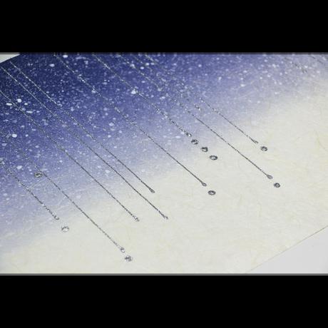 創作デザイン和紙(雨)(商品番号:as-18601)