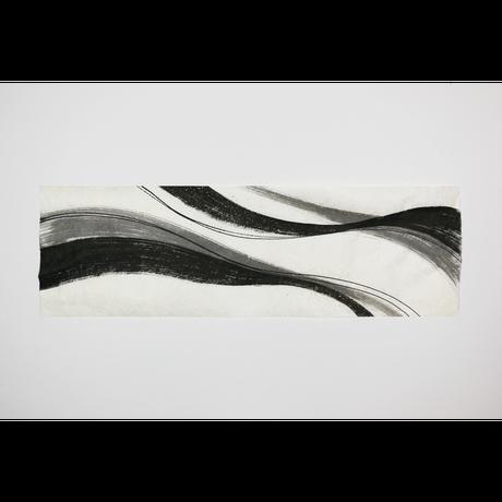 創作デザイン和紙(墨)(商品番号:as-21903)