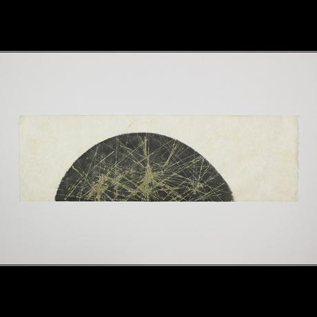 創作デザイン和紙(墨)(商品番号:as-160501)