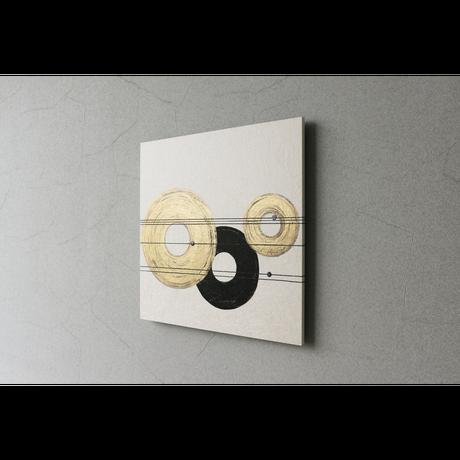 和紙アートパネル「結-Yui」 Washi Wall Art Panel 450×450