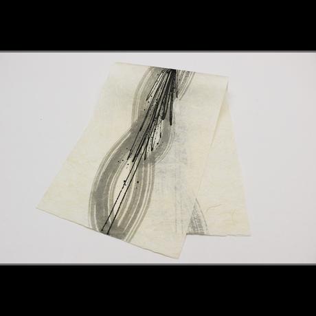 創作デザイン和紙(墨)(商品番号:as-1511041)
