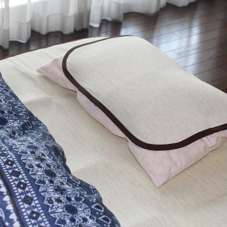 和紙製シーツ&枕カバーセット つくし
