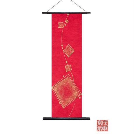 創作和紙インテリアタペストリー「紙禅」Shi-Zen和モダン樹脂デザイン40-01-1