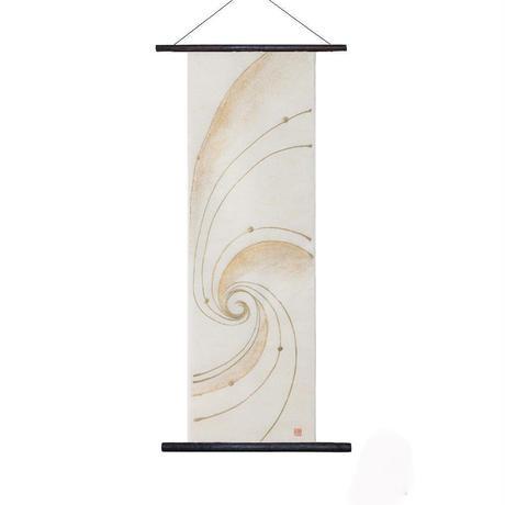創作和紙 インテリアタペストリー「紙禅」~Shi-Zen和モダン樹脂デザイン 84-40-16
