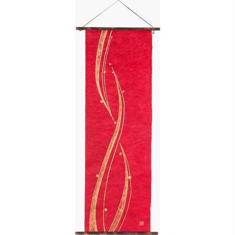 創作和紙 インテリアタペストリー「紙禅」~Shi-Zen和モダン樹脂デザイン84-40-18