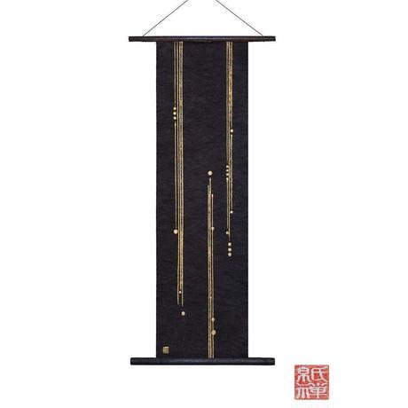 創作和紙インテリアタペストリー「紙禅」Shi-Zen和モダン樹脂デザイン40-09-1
