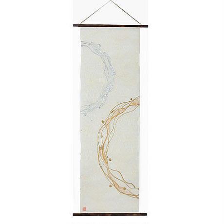 創作和紙インテリアタペストリー「紙禅」~Shi-Zen和モダン樹脂デザイン4012