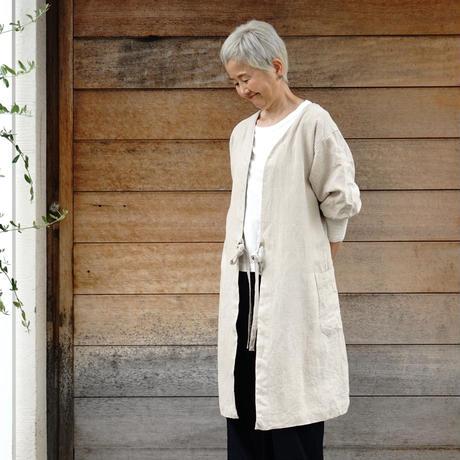 "2way 割烹着""kapoc"" / Japanese house working coat"
