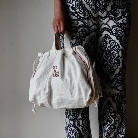 買い物カゴトート『L』用インナーバッグ『special fabric & lettered』