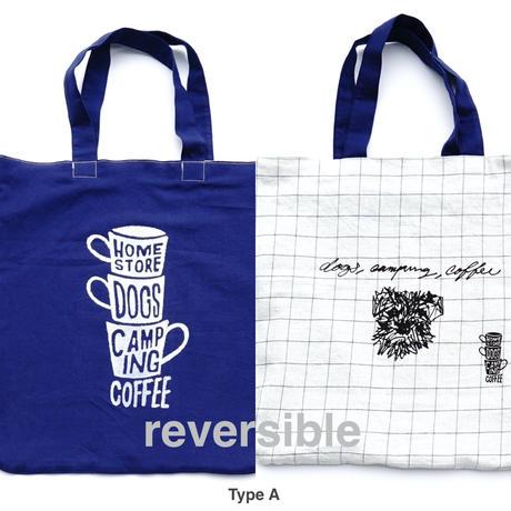 """3 Cups ×  SCHNAUZER"" REVERSIBLE BIG BAG"