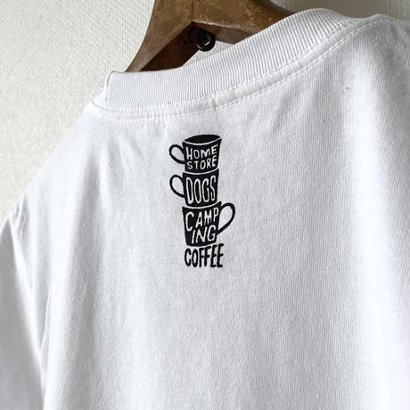"PAINTS ""SPANIEL"" Tee Shirts WHITE"