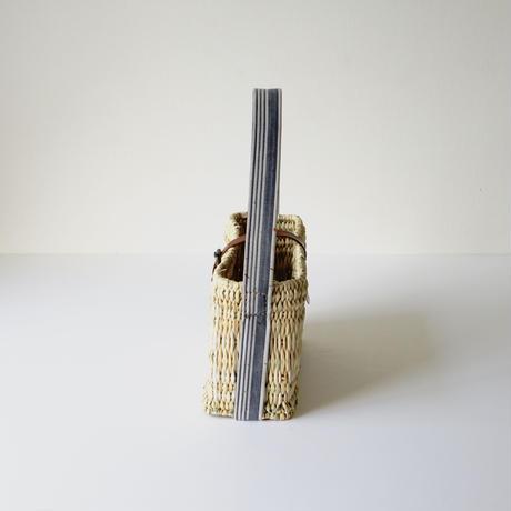 ワンショルダーカゴBAG SMALL  ( COLONIAL & LEATHER) シリアルNo.054